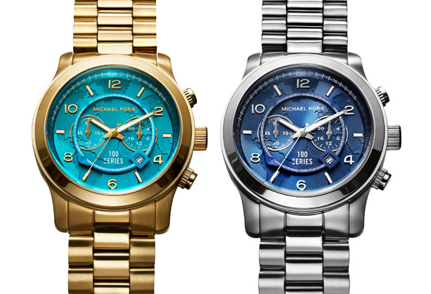 michael kors world food programme gold silver watches dylan griffin for ba reps