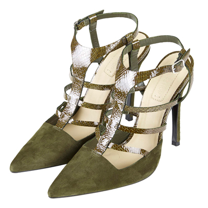 topshop heels military style fashion redonline