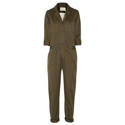 current elliott jumpsuit military style fashion redonline