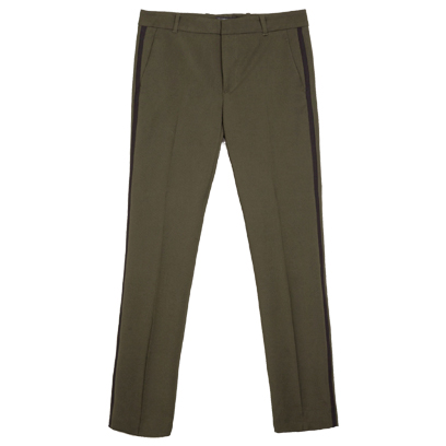 zara trousers military style fashion redonline