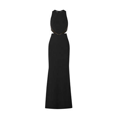 alice and olivia black maxi