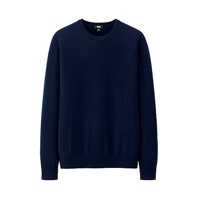 uniqlo mens cashmere jumper fashion news redonline
