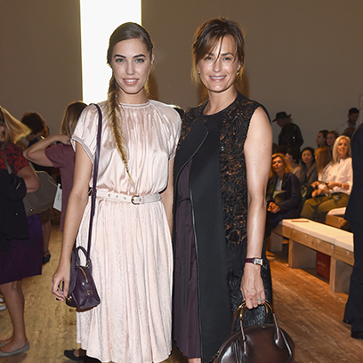 amber le bon yasmin le bon fashion families editor s choice fashion redonline