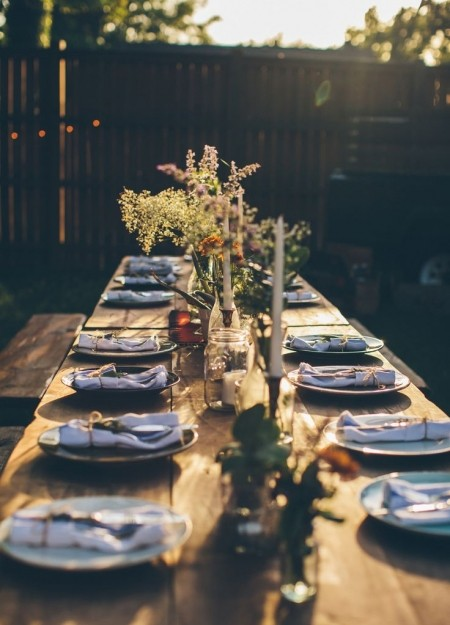 1 / 9 & How to style up your dinner party table | dinner party table setting ...