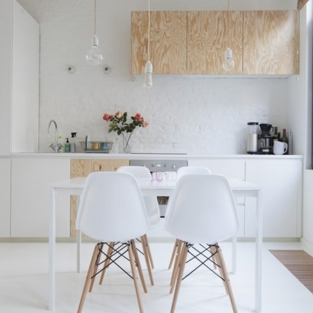 Minimalist homes that will make you hate clutter for Buzzfeed best dining rooms