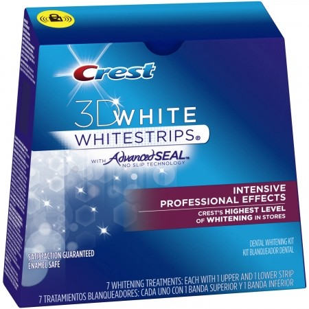 Crest white strips and veneers