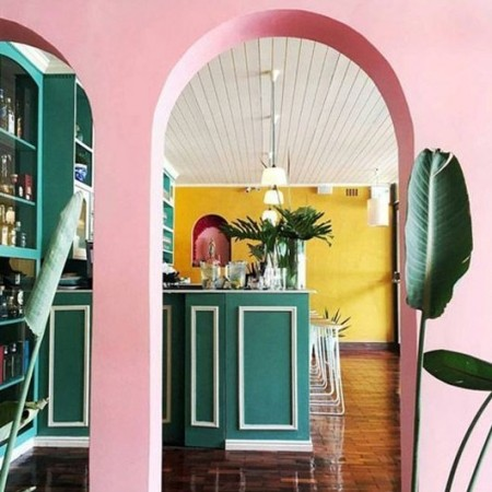 Pink And Green Interior Inspiration Red Online