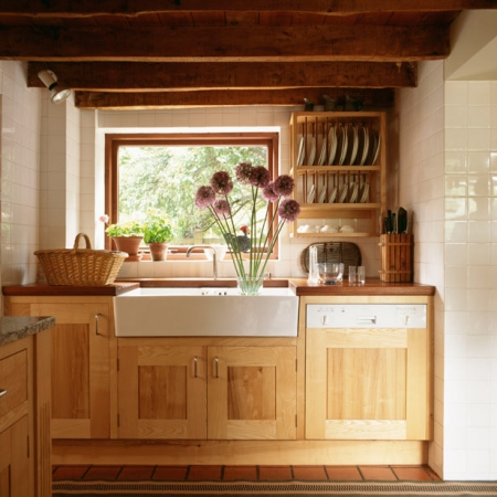 Contemporary country kitchens interiors redonline for Modern country kitchen cabinets