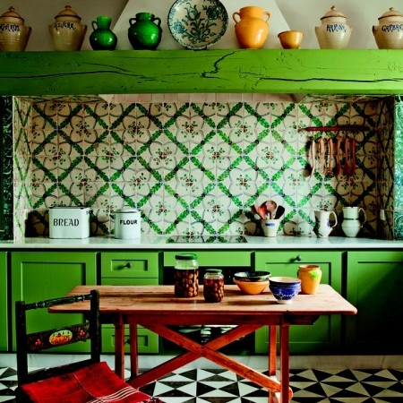 How To Make Your Kitchen Over All Boho | Best Ideas For Colourful Kitchens  | Interiors | Redonline.co.uk   Red Online