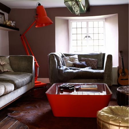 modern retro living room - interiors - redonline - red online
