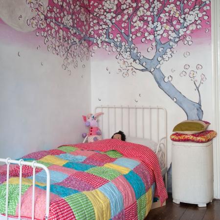 Children 39 s bedrooms bedroom colour schemes red online - Kinderzimmer wandbemalung ...