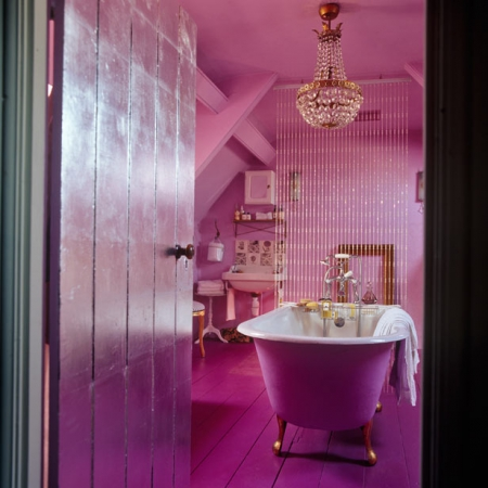 bold colour bathrooms - interiors - redonline - red online