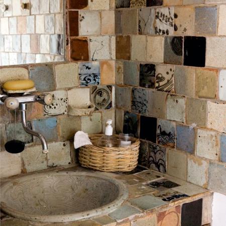 Luxe ethnic bathroom interiors redonline red online - Arredo bagno stile etnico ...