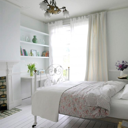 All white Bedrooms Bedroom Colour Scheme Ideas