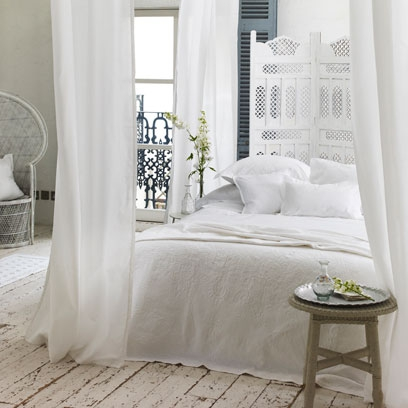 Bedroom Ideas White all-white bedrooms | bedroom colour scheme ideas | interiors - red