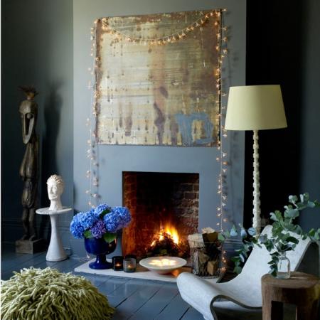 Best fairy lights decorating tips lighting ideas - Fairy lights in room ...