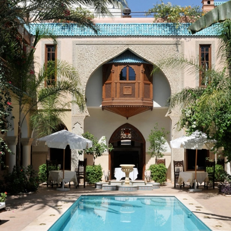 Best riads in marrakech where to stay in morocco red for Tradi demeure