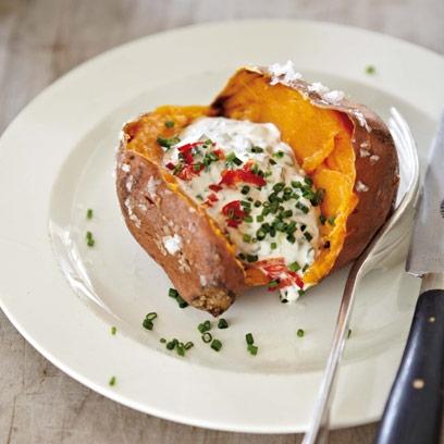 How To Cook Sweet Potato Jacket Potatoes