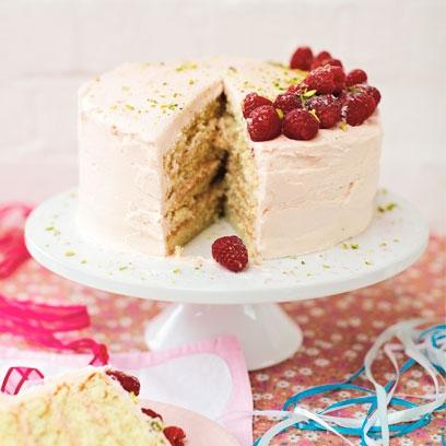 Raspberry cake recipe bbc