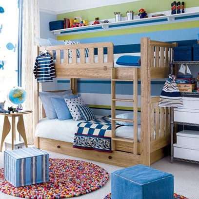 Boys bedrooms bedroom decorating ideas red online for Childrens bedroom ideas