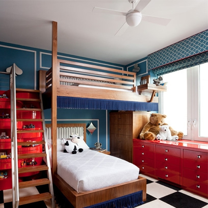 Boys bedrooms bedroom decorating ideas red online for Lads bedroom ideas