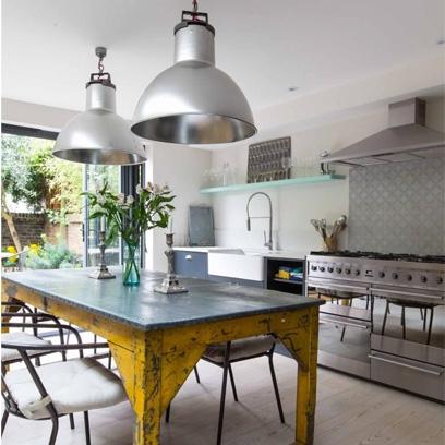 Industrial style kitchens best kitchen design ideas for Industrial style kitchen uk