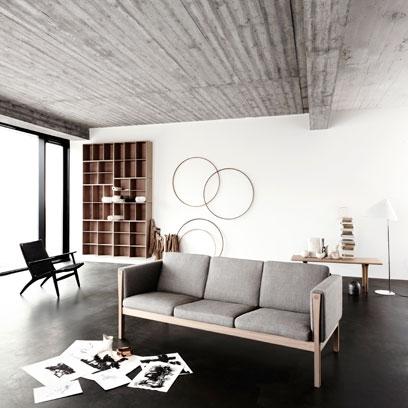 Living Room: Carl Hensen: Monochrome: Decorating Ideas: Interiors Part 65