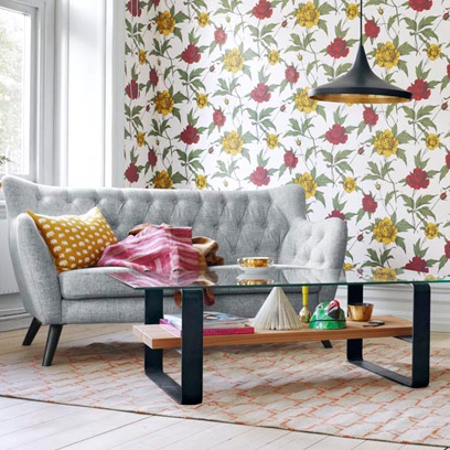 interesting wallpaper centerpieces living room coffee table | Coffee table ideas: Decorating Ideas: Interiors - Red Online