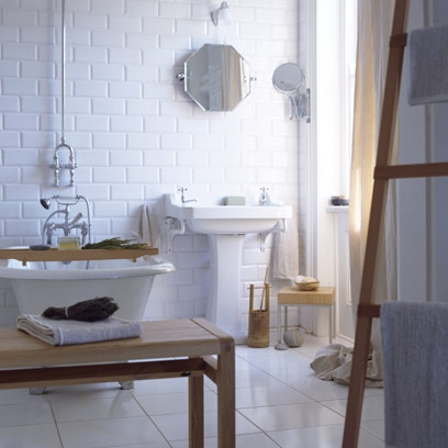 White bathroom ideas decorating ideas interiors red online for All white bathroom designs