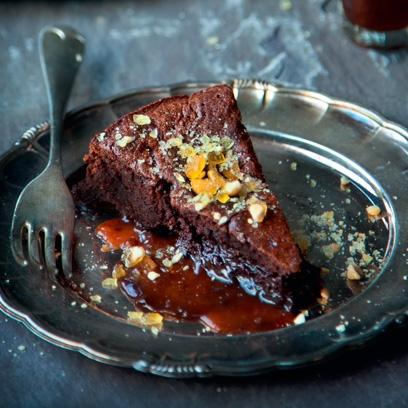 Best Recipes Caramel Mud Cake