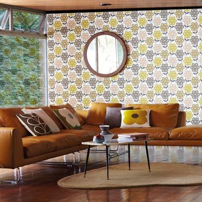 Living Room Wallpaper Wallpaper Red Online