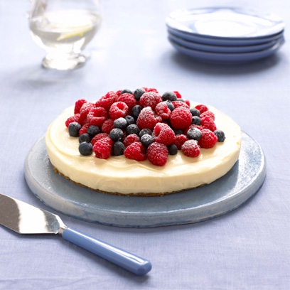 Mary Berry's lemon cheesecake recipe from 'Cook Up A Feast'