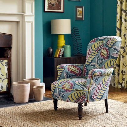 Statement armchair ideas: Decorating Ideas: Interiors ...