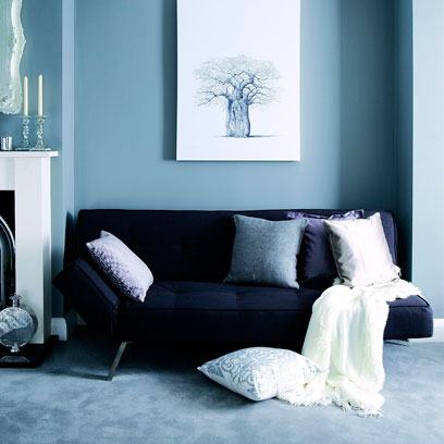 What colour carpet with duck egg blue walls carpet for Duck egg blue and grey living room ideas
