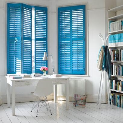 Blue rooms colour scheme ideas red online - Shutters for decoration interior ...