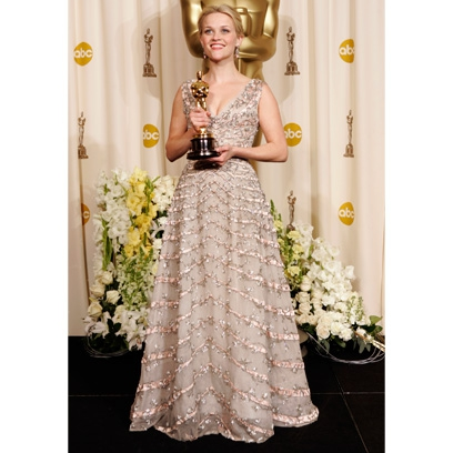 Reese Witherspoons fashion style Celebrity red carpetReese Witherspoon Oscar 2006