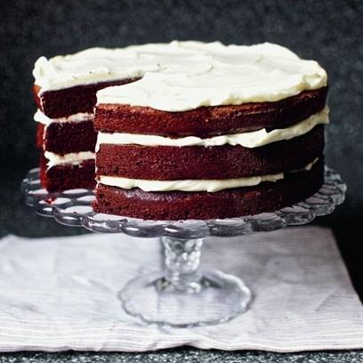 red wine velvet cake entertaining red wine velvet cake by anna berrill ...
