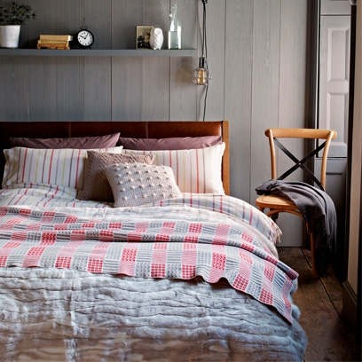 Bedroom colour schemes red online for John lewis bedroom ideas