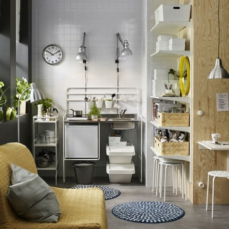 How To Make The Most Of A Small Kitchen | Kitchen Ideas | Decorating   Red  Online