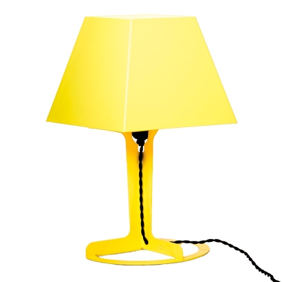 Yellow bedside lamp from TwentyTwentyOne. Best bedside lamps   Bedroom lighting ideas   Red Online