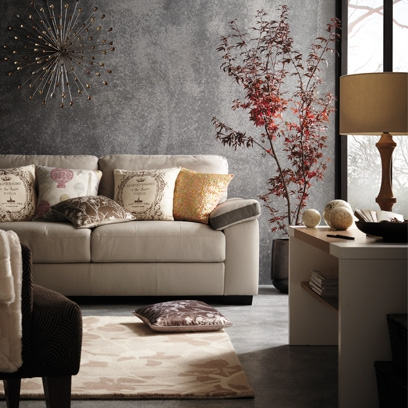 Grey Wall Living Room decorating with grey - best grey room inspiration - red online