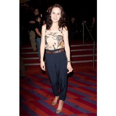 michelle dockery fashion style celebrity red carpet