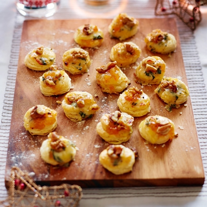 Best easy canapes recipes red online for Easy cold canape ideas