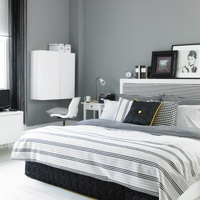 Grey bedroom ideas grey rooms bedroom ideas red online for Grey and white bedroom designs