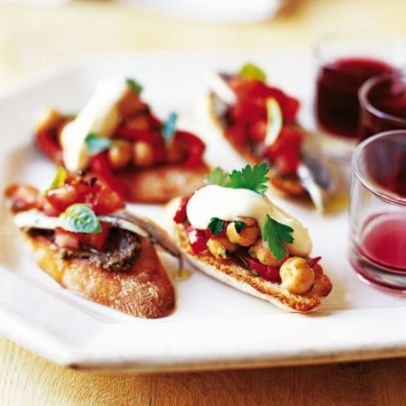 Best easy drinks party recipes canapes and cocktail for Vegetarian canape ideas