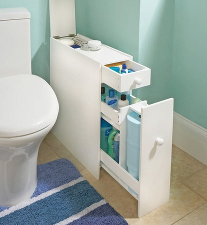 Make The Most Of A Small Bathroom