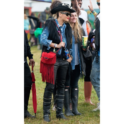 Glastonbury 2014 Celebrity Pictures Red Online