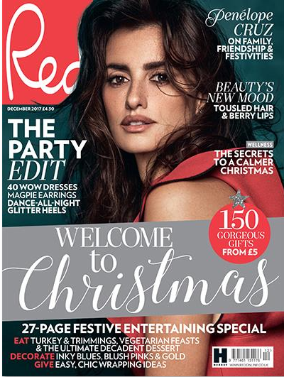 Give the perfect Christmas gift and subscribe to Red magazine today from JUST £27.99 for 12 issues.