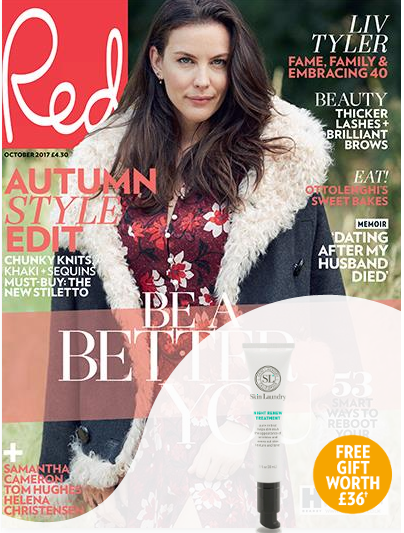 Subscribe today and get six issues for just £9.99 plus receive a Night Renew Treatment from Skin Laundry, worth £36