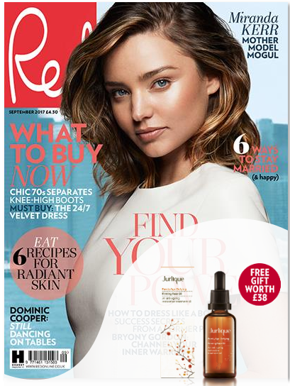 Subscribe today and get six issues for just £9.99 plus receive a FREE Jurlique face oil, worth £38!
